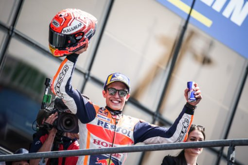 Marquez makes it three in a row at Le Mans