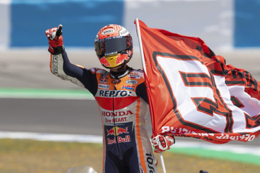 Victory at Jerez gives Marc Márquez series lead