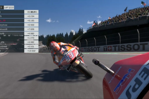 Fourth position for Marc Márquez at the second Virtual race